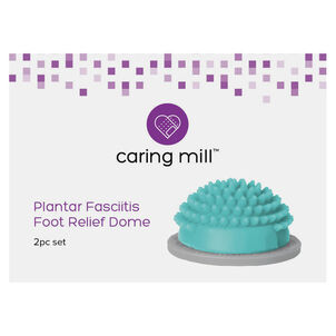 Caring Mill™ Plantar Fasciitis Foot Relief Dimple Dome