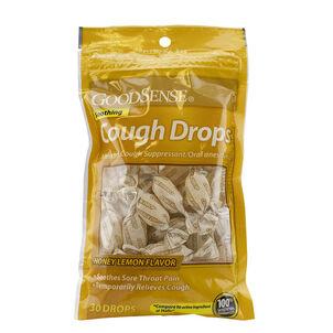 GoodSense Honey Lemon Cough Drops, 30 ct