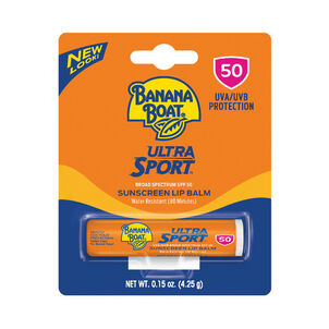 Banana Boat Ultra Sport Sunscreen Lip Balm SPF 50, 0.15oz