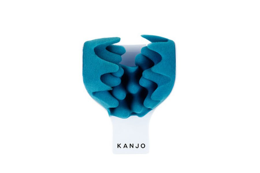 Kanjo Neck Pain Relief Support Cradle, Blue/White, , large image number 2