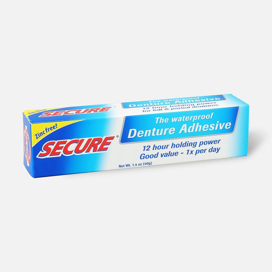 SECURE Denture Adhesive Original 1.4oz, , large image number 1