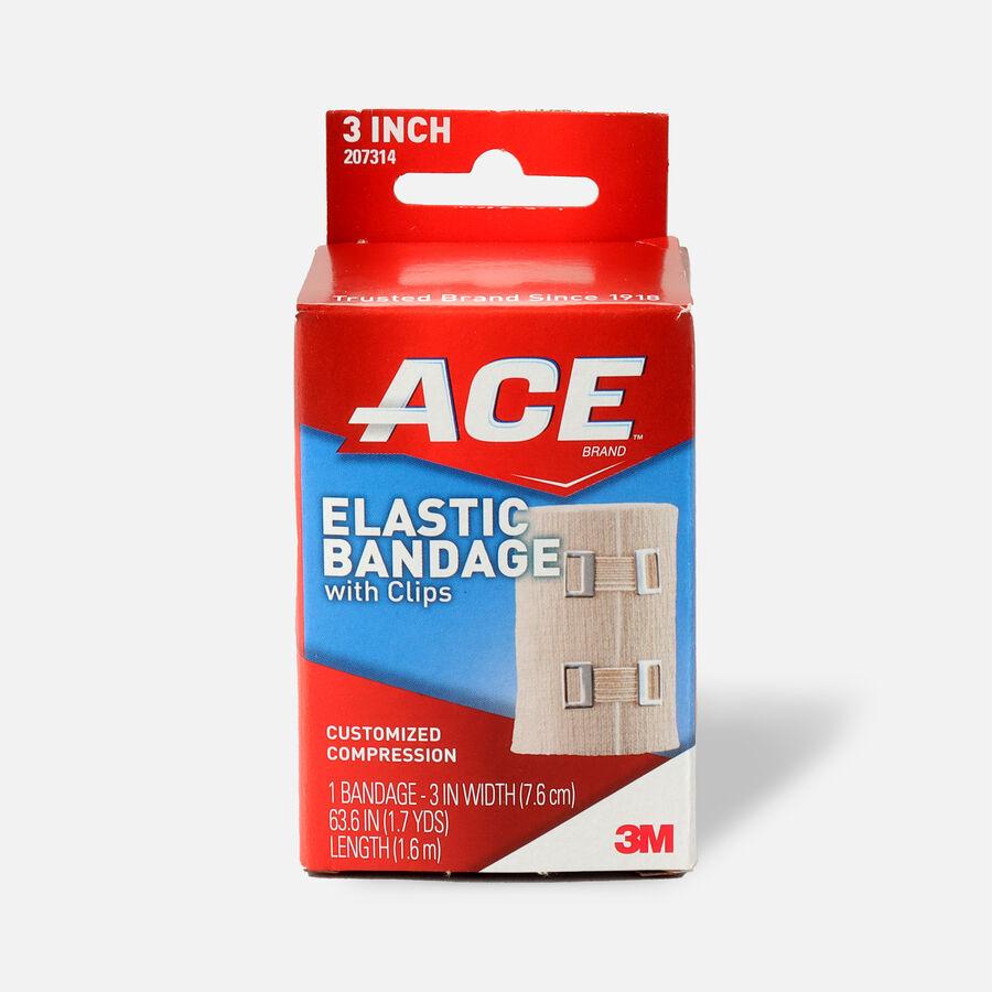 ACE Elastic Bandage with Clips, , large image number 0