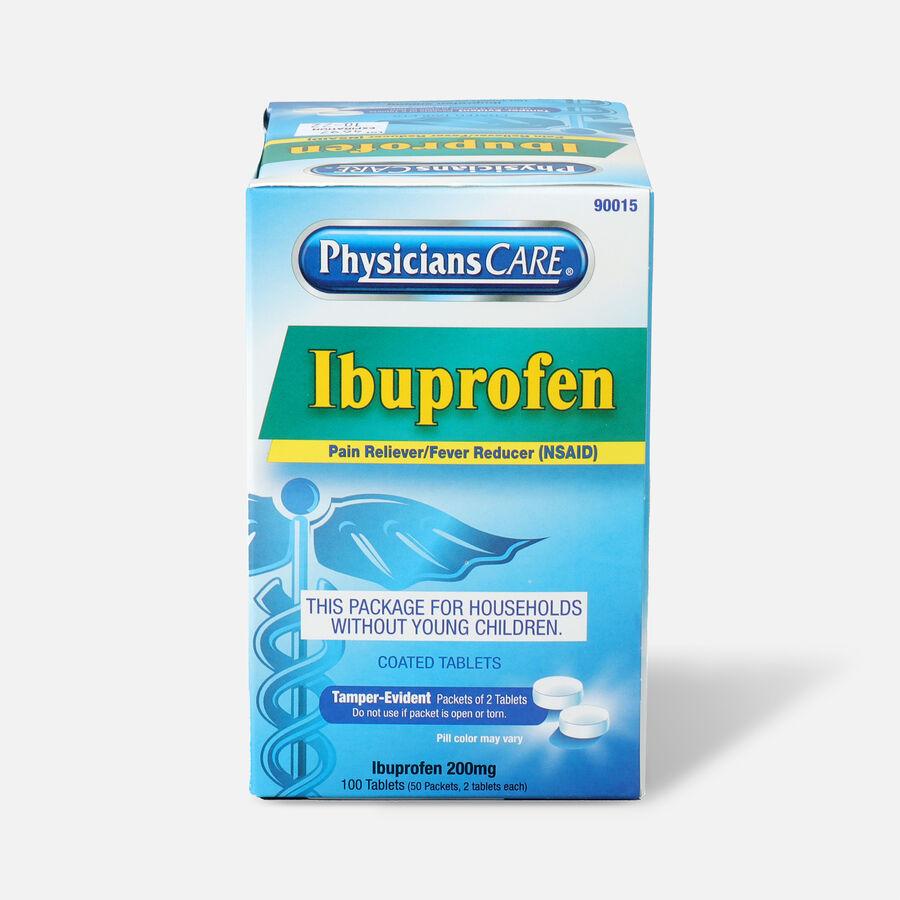 PhysiciansCare Ibuprofen, 100/Box, , large image number 0