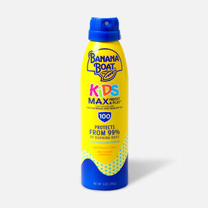 Banana Boat Kids MAX Protect and Play Continuous Spray Sunscreen, SPF 100, 6 fl oz