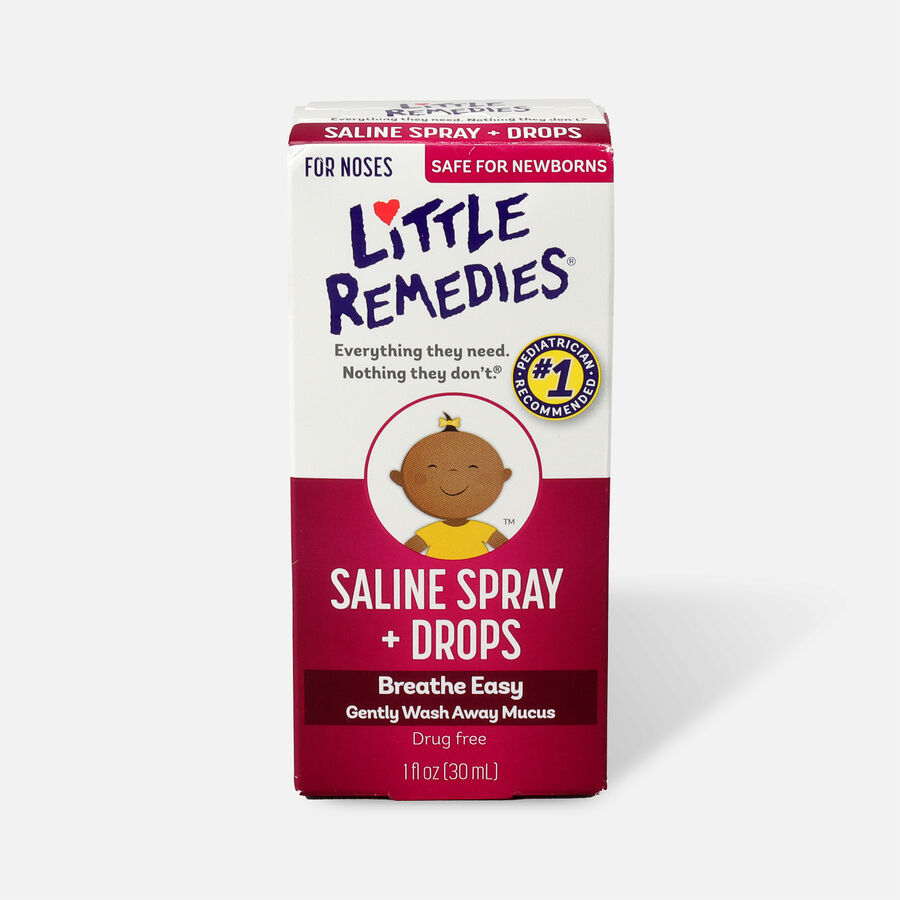 Little Noses Saline Spray/Drops, Non-Medicated, 1 fl oz, , large image number 0