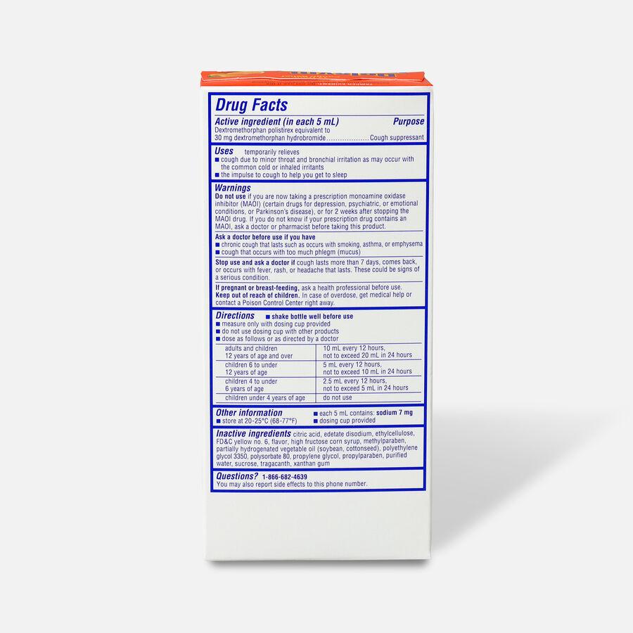 Delsym Adult Liquid, Orange with Dosage Cup, 5 oz, , large image number 1