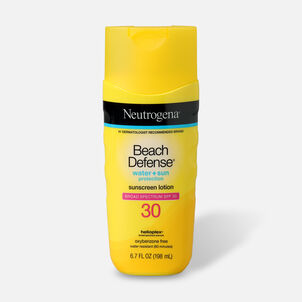 Neutrogena Beach Defense Sunscreen SPF 30 Lotion, 6.7 oz