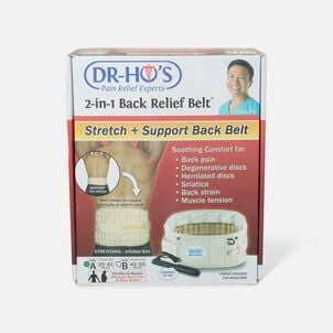Dr-Ho's 2-in-1 Back Decompression Belt (Size A 25 to 41 inches)