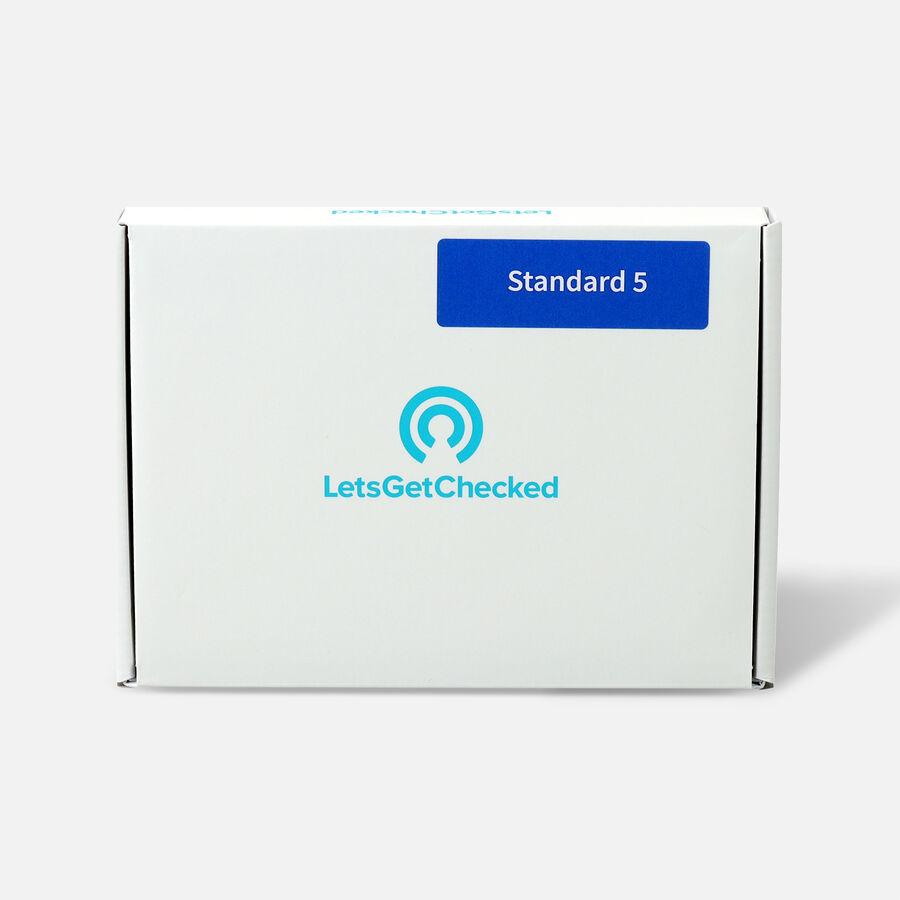 LetsGetChecked Standard 5 at Home STD Test, , large image number 0