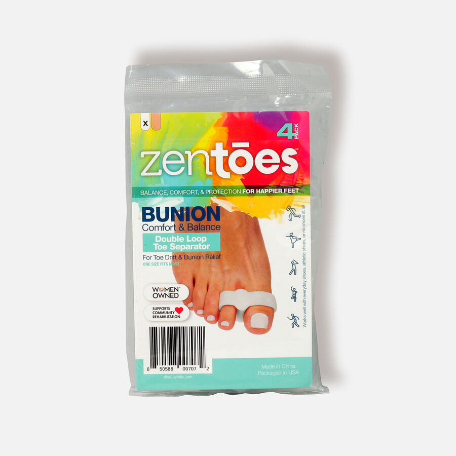 ZenToes Hammer Toe Crests with 3 Loops - 4 Pack, , large image number 2