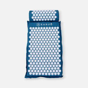 Kanjo Memory Acupressure Mat Set with Pillow, Sapphire