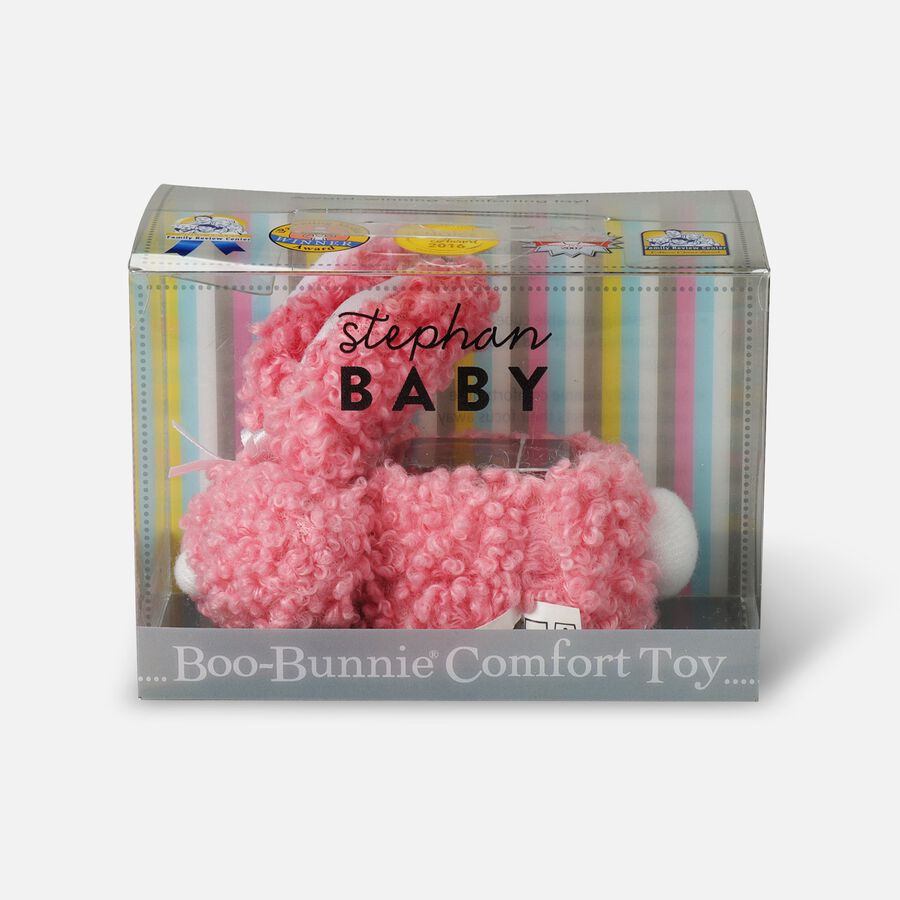 Boo-Bunnie Comfort Toy, Woolly Light Pink, , large image number 0