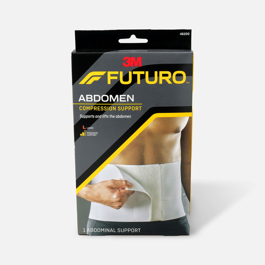 FUTURO Surgical Binder and Abdominal Support, Large, , large image number 0
