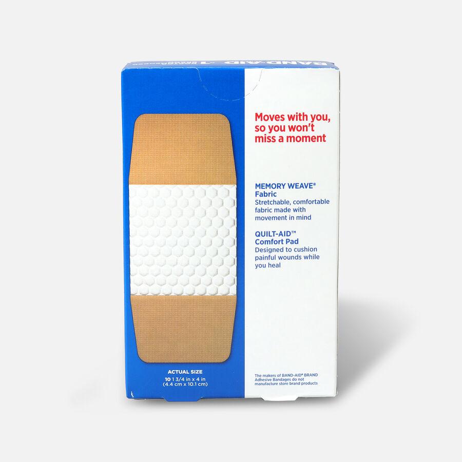 Band-Aid Flexible Fabric Adhesive Bandages, Extra Large - 10ct, , large image number 1
