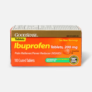 GoodSense® Ibuprofen IB 200 mg Coated Tablets, 100 count