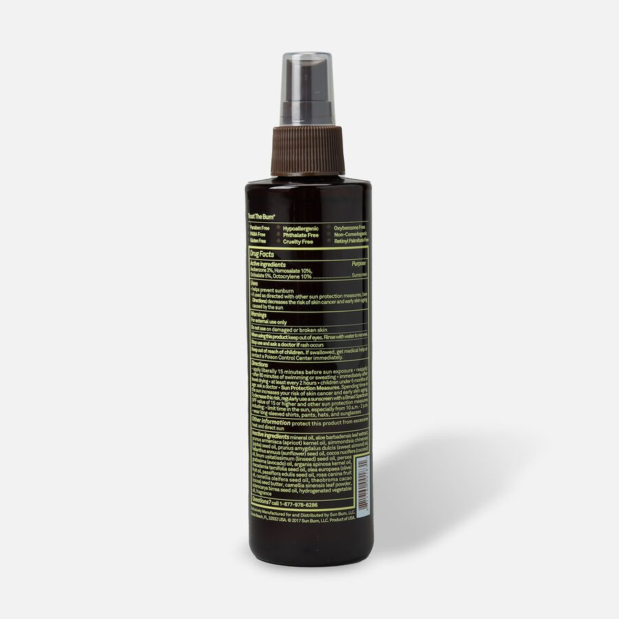Sun Bum SPF 15 Sunscreen Tanning Oil, 8.5oz, , large image number 1
