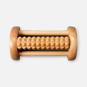 Kanjo Acupressure Foot Pain Relief Single Roller, Wood, Relieves Plantar Fasciitis, Heel & Arch Pain