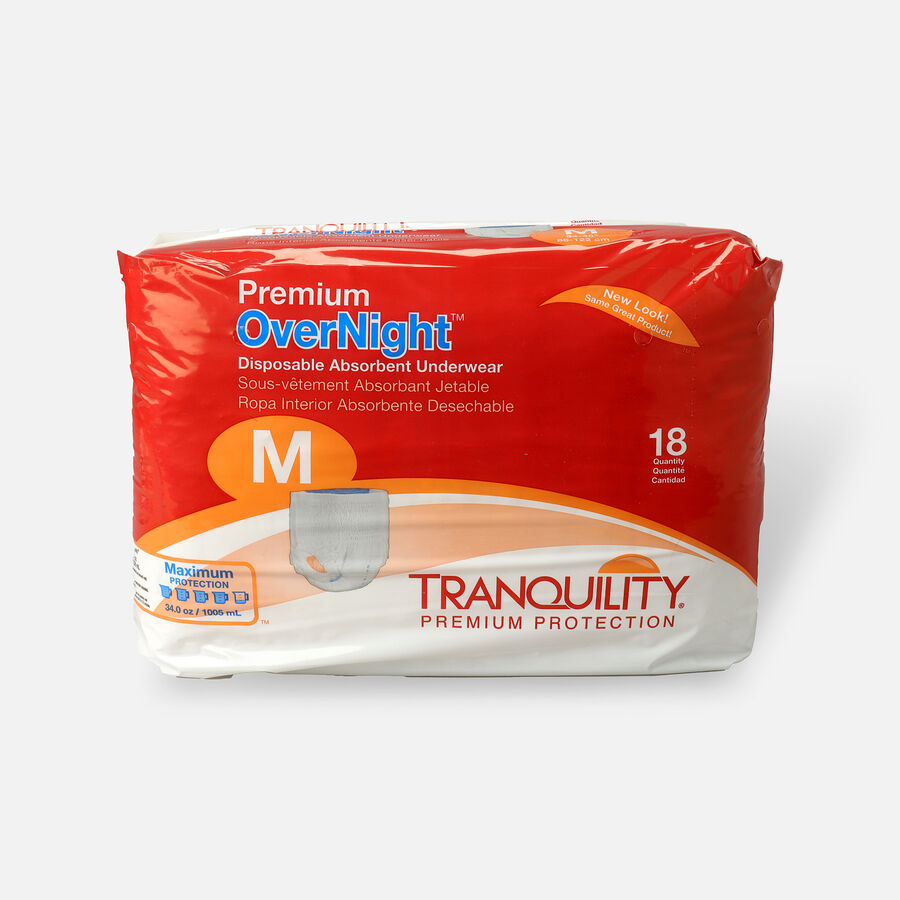 Tranquility Premium OverNight Disposable Underwear, , large image number 3