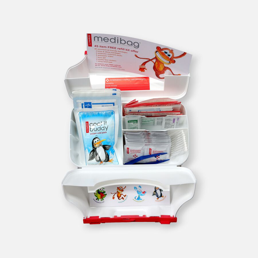 MediBag First Aid Bag for Kids 117 pieces, , large image number 2