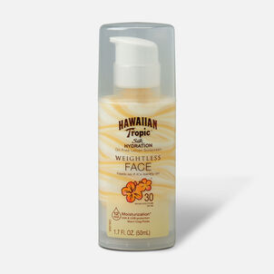 Hawaiian Tropic Silk Hydration Weightless Oil-Free Face Sunscreen SPF 30, 1.7 oz