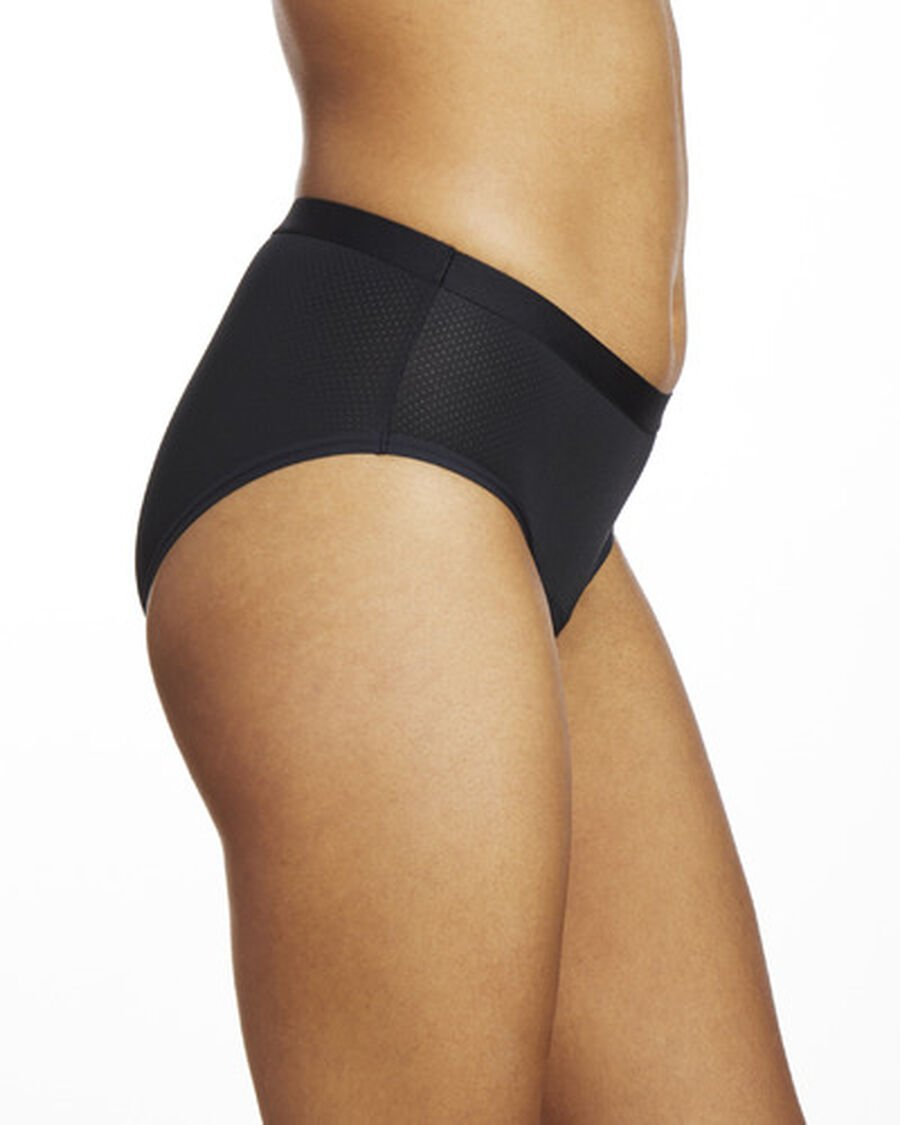 Thinx Period Proof Air Hiphugger, Black, , large image number 4