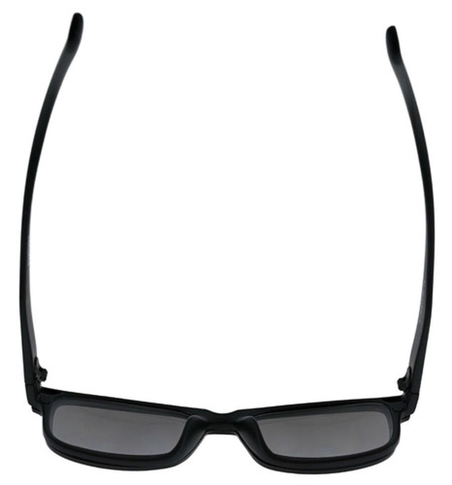 Sunglass Reader with Magnetic Detachable Polarized Lens, +2.50, Black/Smoke, Black/Smoke, large image number 4