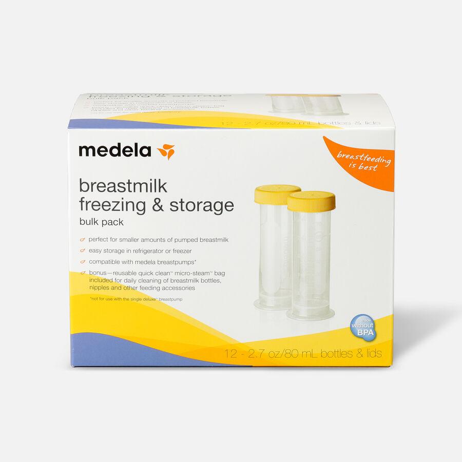 Medela 80 mL Breast Milk Freezing & Storage, 12 Pack, , large image number 0