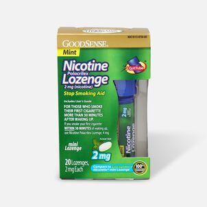 GoodSense® Nicotine Mini Lozenge Quit Tube Mint 2 mg