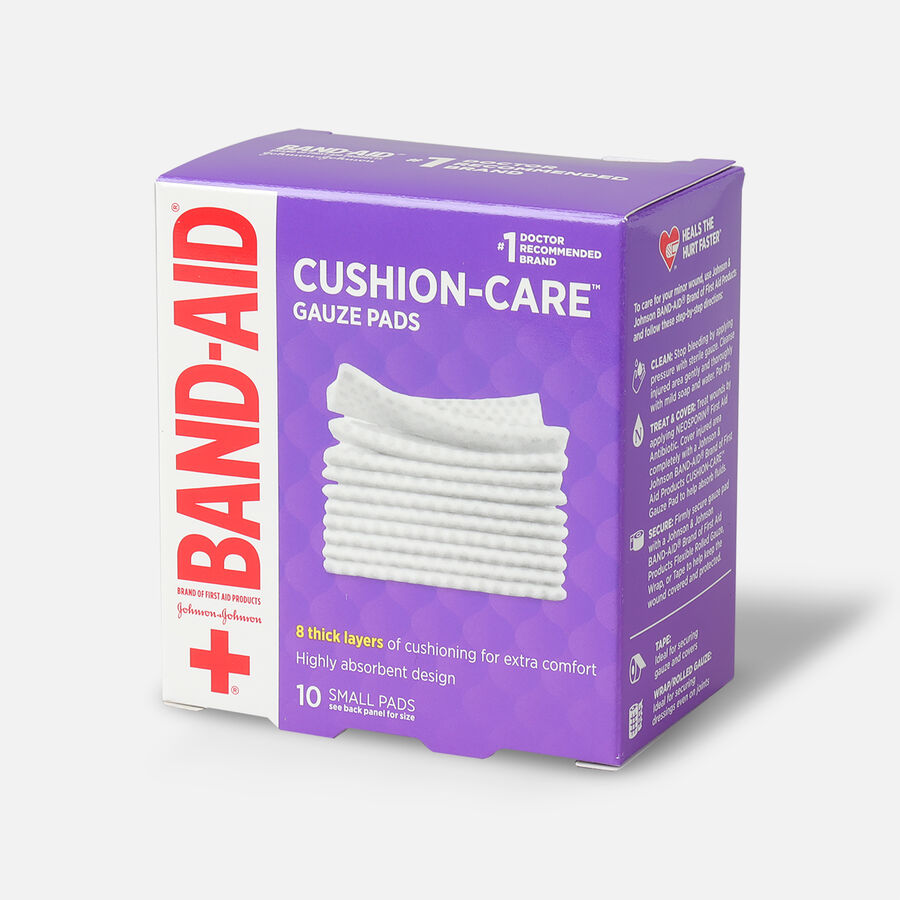Band-Aid First Aid Gauze Pads 2x2, 25 ea, , large image number 2