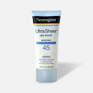 Neutrogena Ultra Sheer Dry-Touch Sunscreen, SPF 45, 3 oz