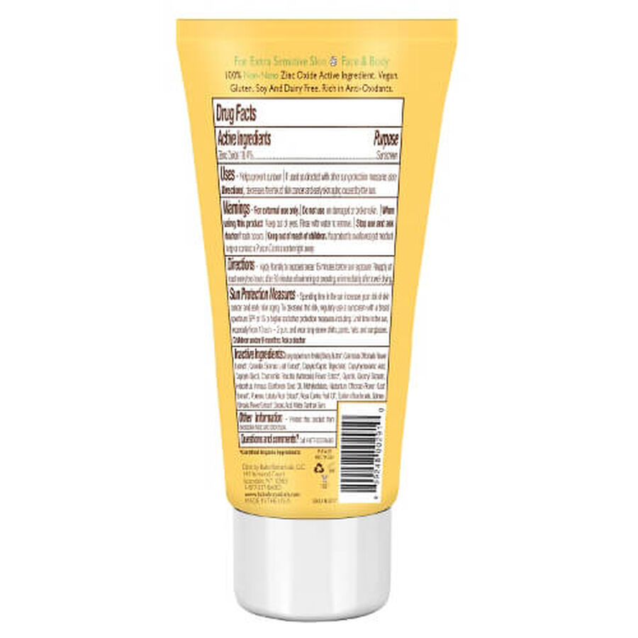 Babo Botanicals Clear Zinc Fragrance Free Sunscreen, SPF 30, 3 oz, , large image number 1