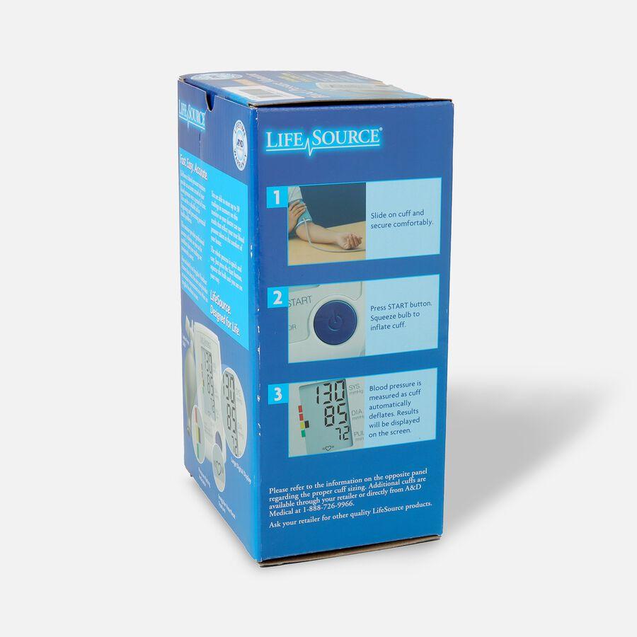 Life Source Advanced Blood Pressure Monitor Manual Inflate UA-705VL, , large image number 3