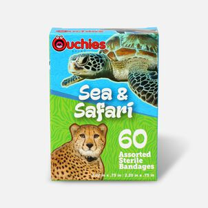Ouchies Sea and Safari Bandages, 60ct