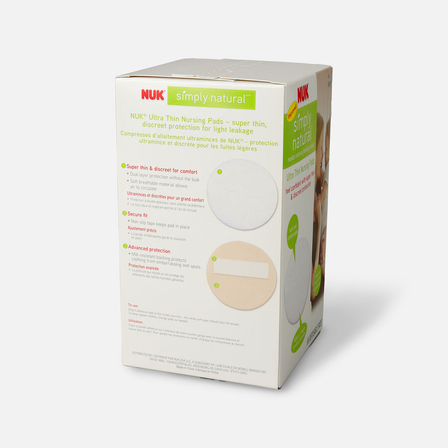NUK® Ultra Thin Nursing Pads, 60 + 6 ea, , large image number 2