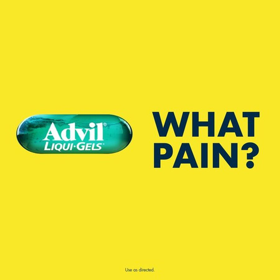 Advil Pain Reliever Fever Reducer Liqui-Gels, 40 ct, , large image number 9