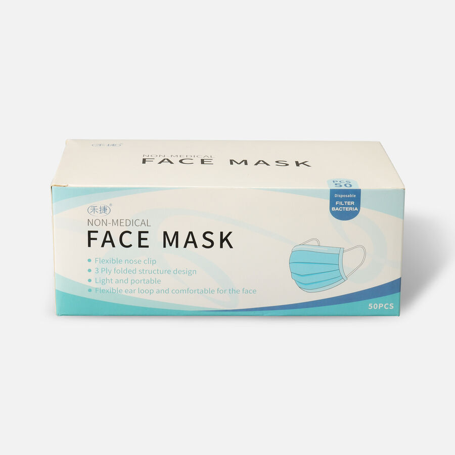 Disposable Face Masks (Box of 50), , large image number 0