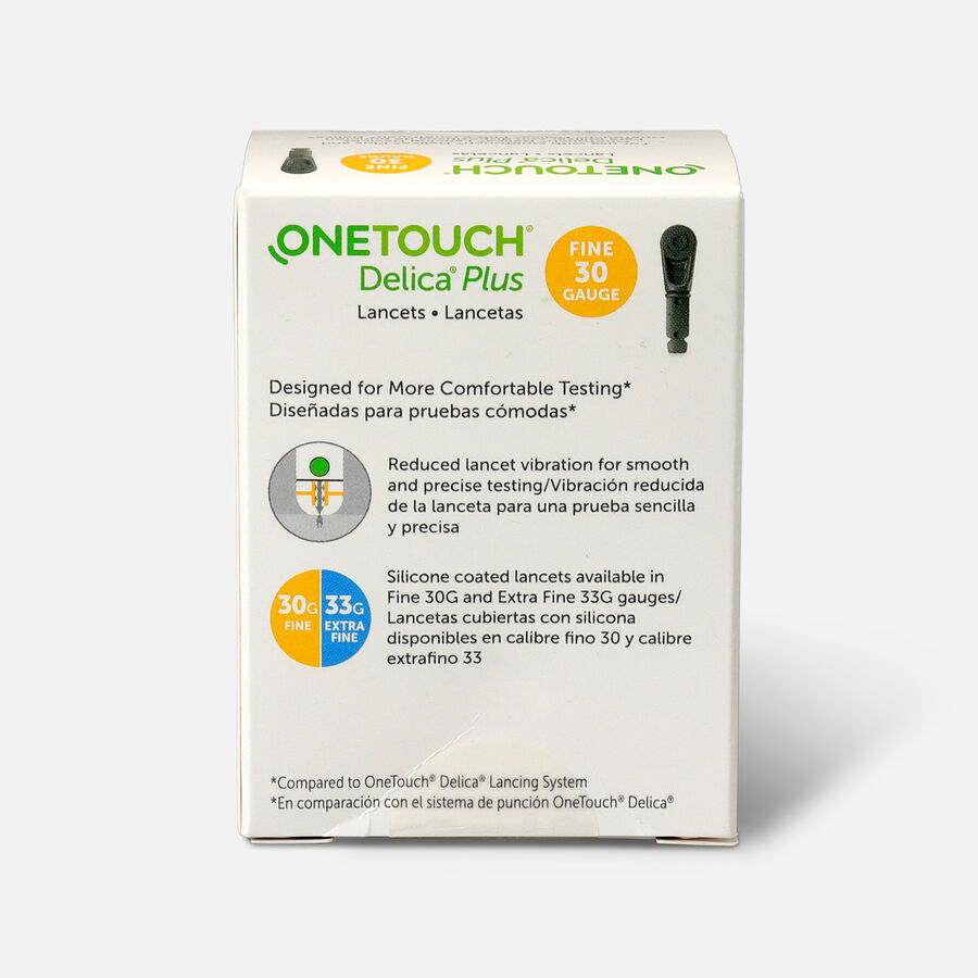 OneTouch Delica Plus Lancet 30G (100 count), , large image number 1