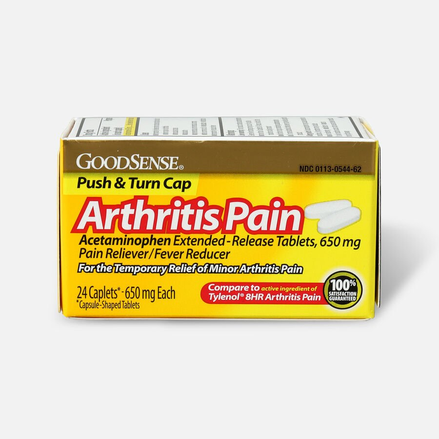 GoodSense® Arthritis Pain Relief 650 mg Extended Release Caplets, , large image number 0