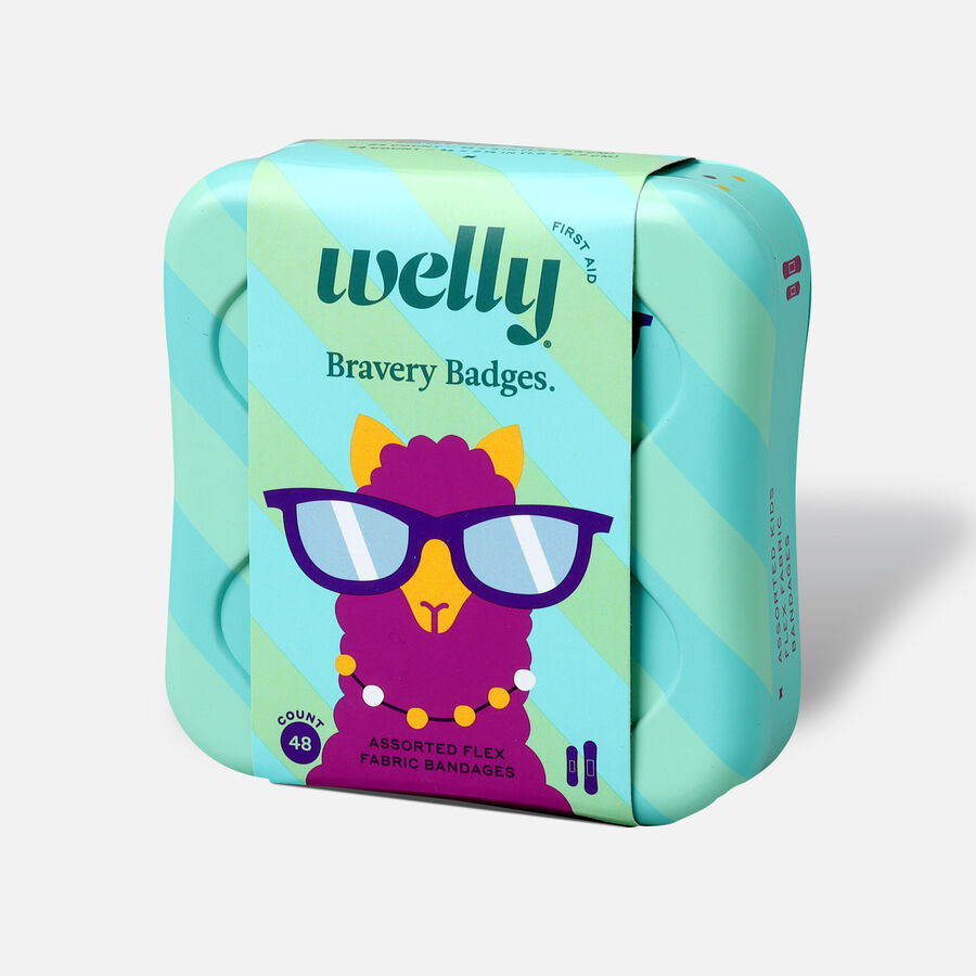 Welly Bravery Badges Peculiar Pets Assorted Flex Fabric Bandages - 48ct, , large image number 2