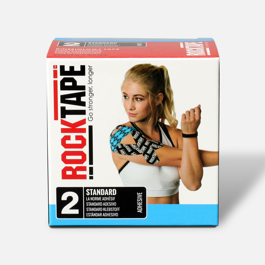 RockTape Standard Roll, Electric Blue, 2 in x 16.4 ft, Electric Blue, large image number 0
