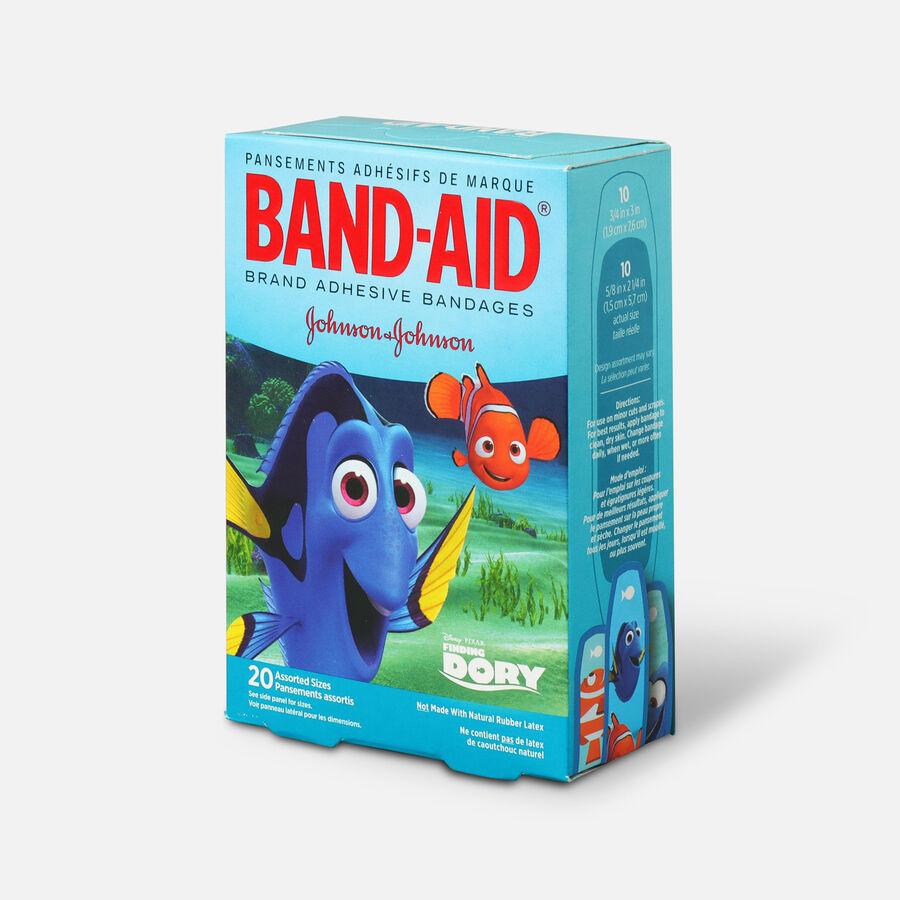 Band-Aid Adhesive Assorted Bandages Disney/Pixar Finding Dory, 20 ct., , large image number 1