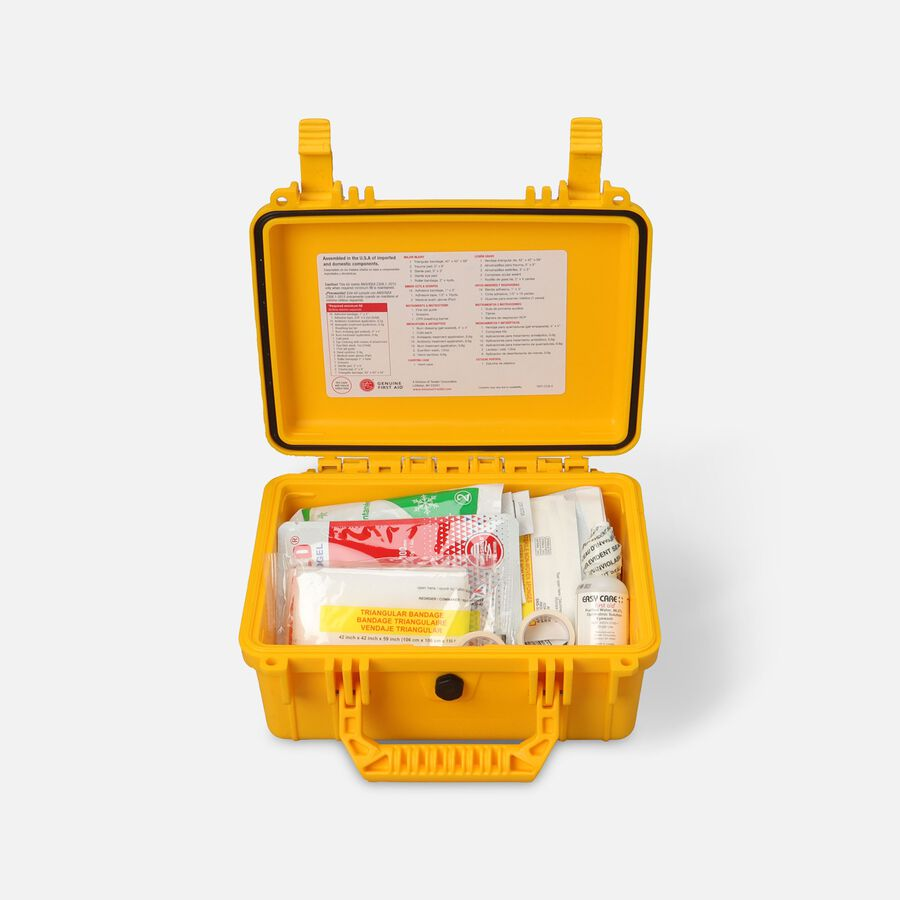 Genuine First Aid Waterproof First Aid Kit Class A ANSI Type IV, , large image number 0