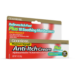 GoodSense® Hydrocortisone 1% Plus Cream Max Strength, 1 oz