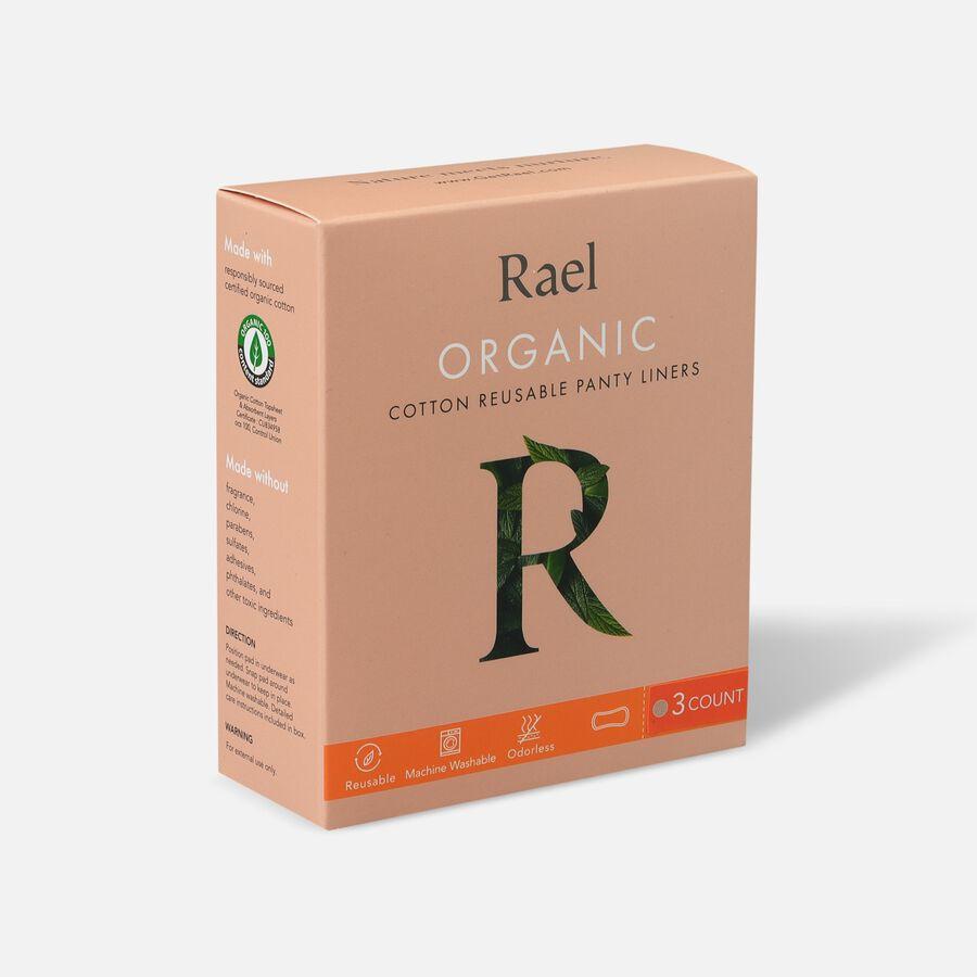 Rael Organic Cotton Reusable Panty Liners - Regular/Nude, 3ct, , large image number 2