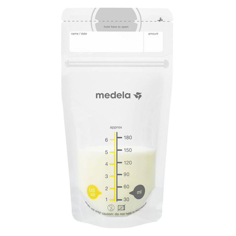 Medela Breast Milk 6oz Storage Bags, 100 count, , large image number 4