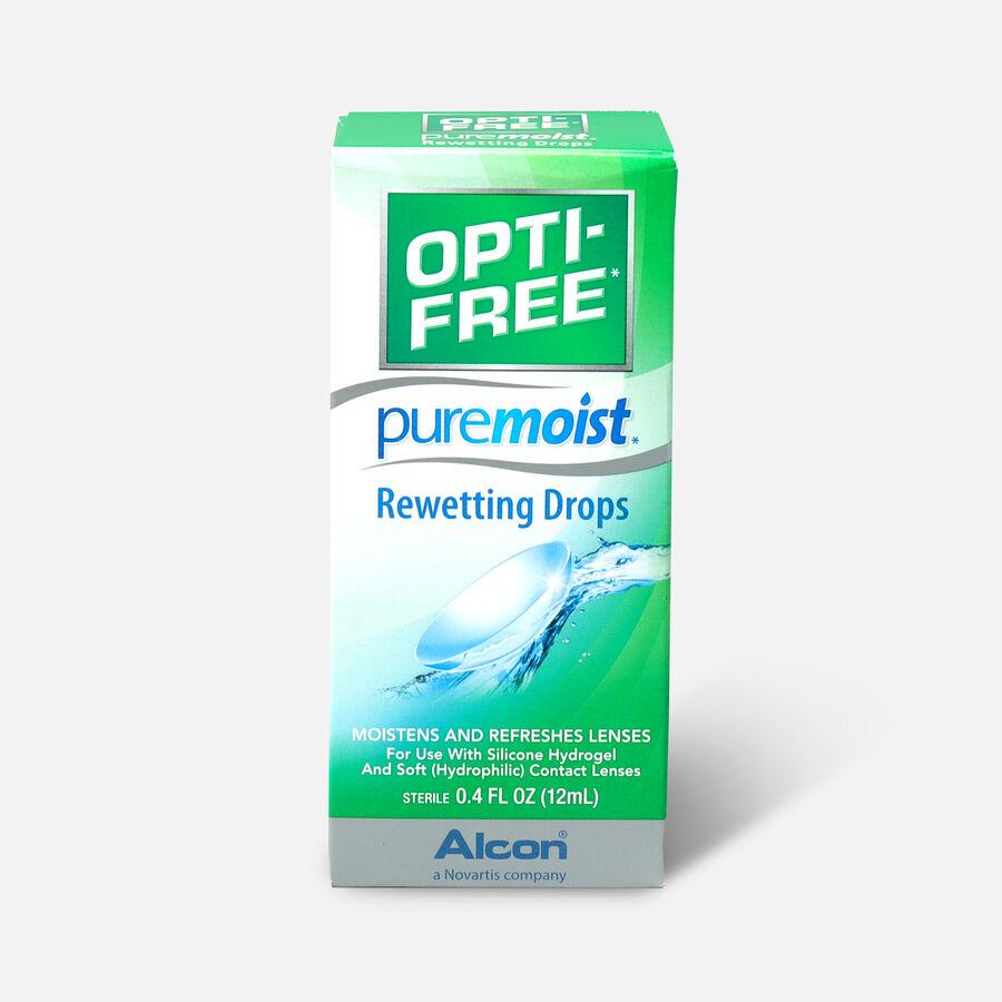 Opti-Free PureMoist Rewetting Drops, 12 ml, , large image number 0
