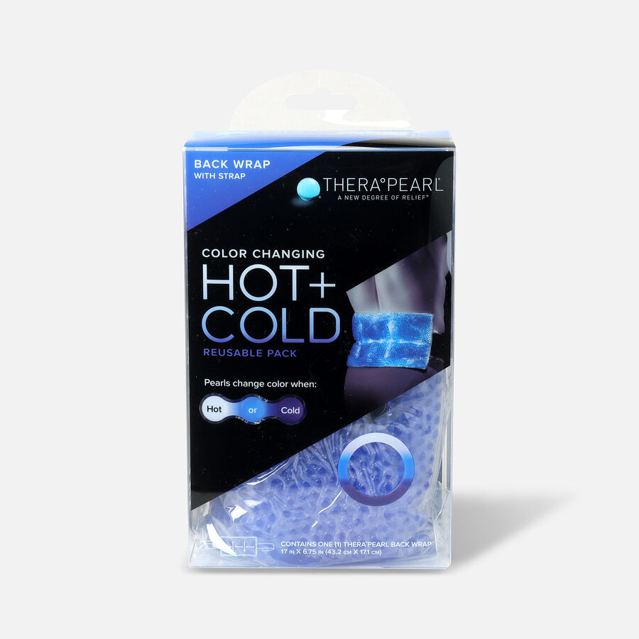 """TheraPearl Hot and Cold Back Wrap, 17"""" x 6.75"""", , large image number 1"""