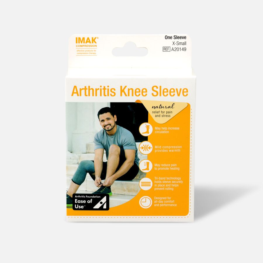 IMAK Compression Arthritis Knee Sleeve, , large image number 0