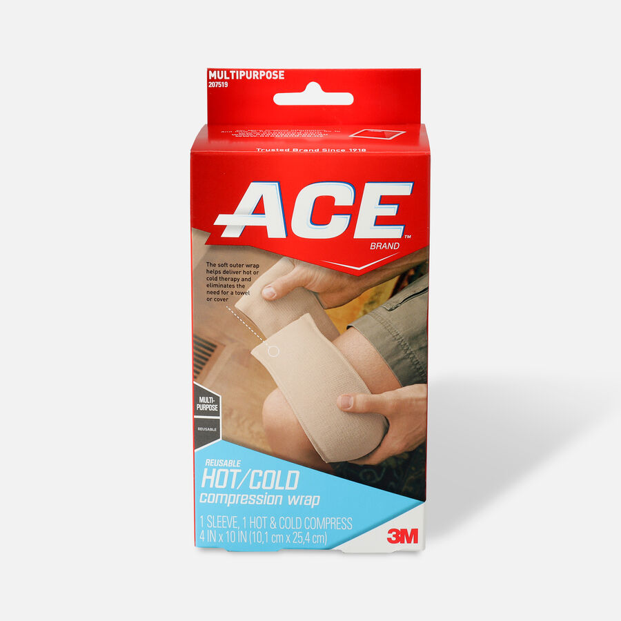 ACE Hot and Cold Reusable Compression Wrap, , large image number 0