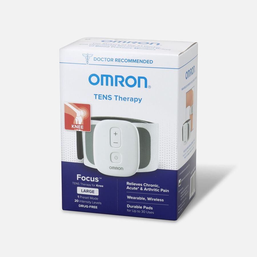 OMRON Focus TENS Therapy for Knee, Wearable, Wireless, Large, , large image number 2